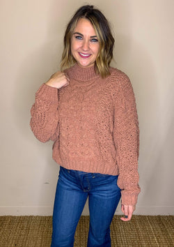TOPS S / CANYONCLAY Aspen Dreams Sweater