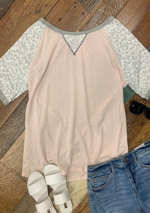 TOPS S / LIGHTPINK Forever Young Top