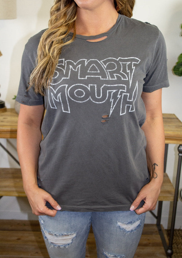 TOPS Smart Mouth Tee