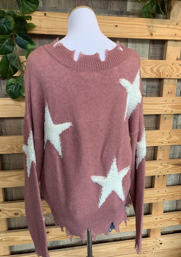 TOPS Stars Among Us Sweater