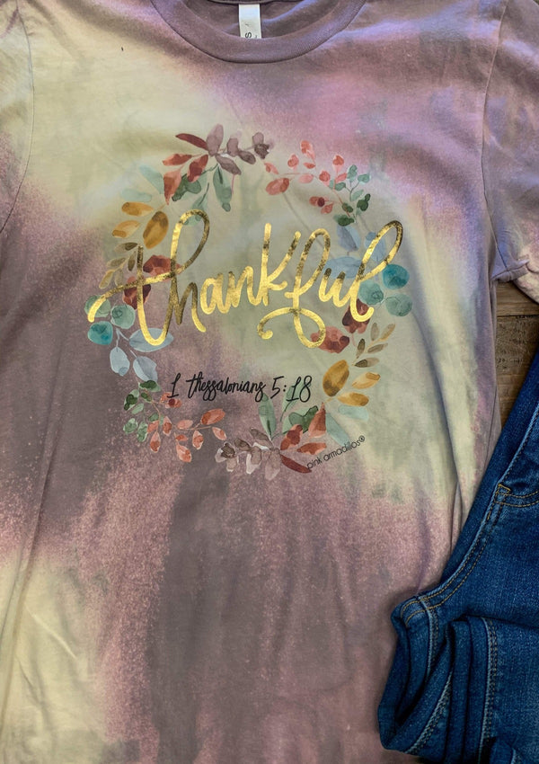 TOPS Thankful Tee