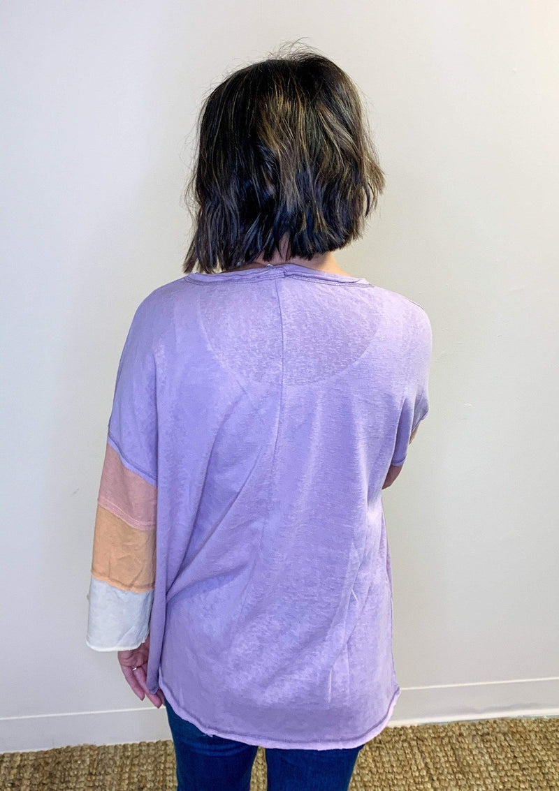 TOPS Through Day And Night Top In Mauve