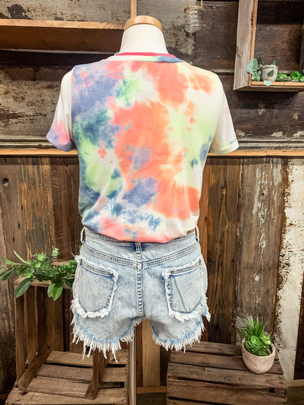TOPS Vibrant Vibes Top
