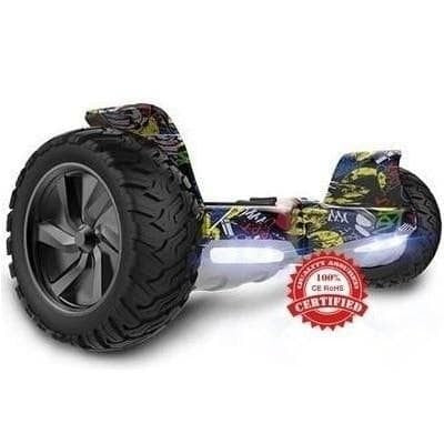 Hummer Cartoon Hero segboard - funboards.dk Aps