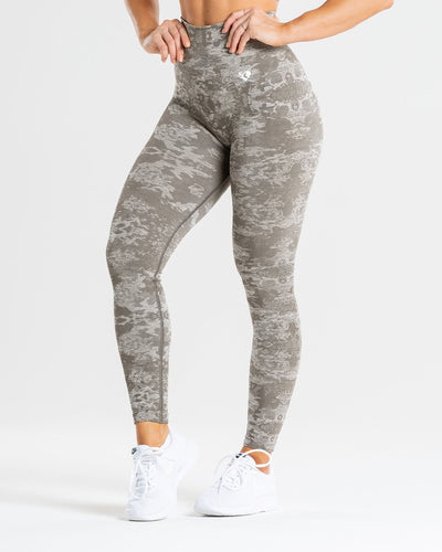 Camo Seamless Leggings | Green