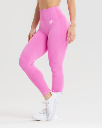 Power Seamless Leggings | Phlox Pink