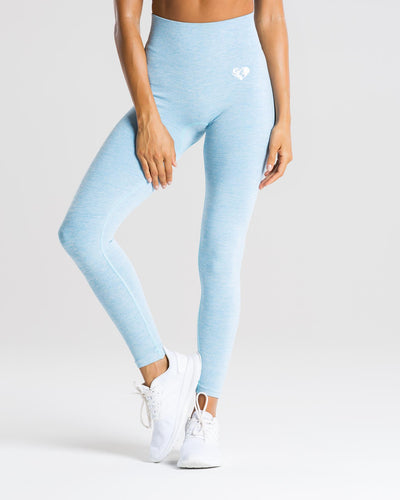 Move Seamless Leggings | Blue Marl