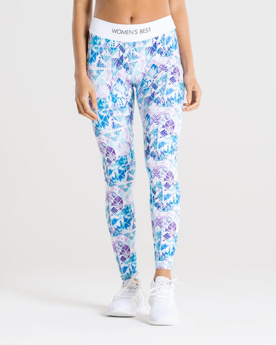 Sculpture Leggings | Flash/Blue
