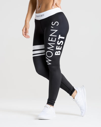 Inspire Leggings | Black/White