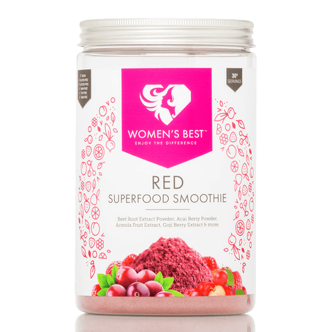 Roter Superfood Smoothie