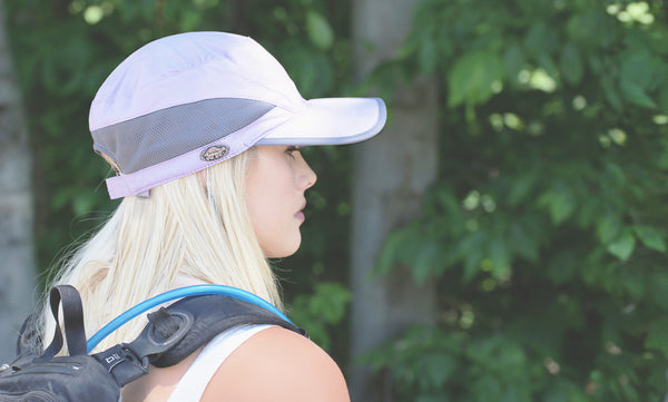 Women's performance ball caps for fishing and hiking