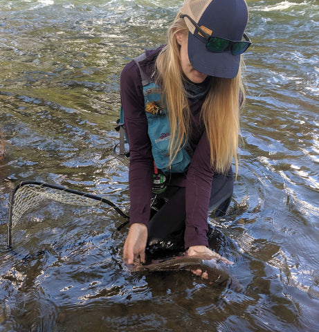 What to wear fly fishing in the summer or warmer months