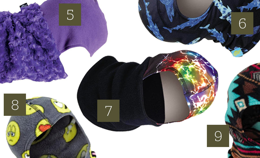 kids balaclavas skiing masks facemasks
