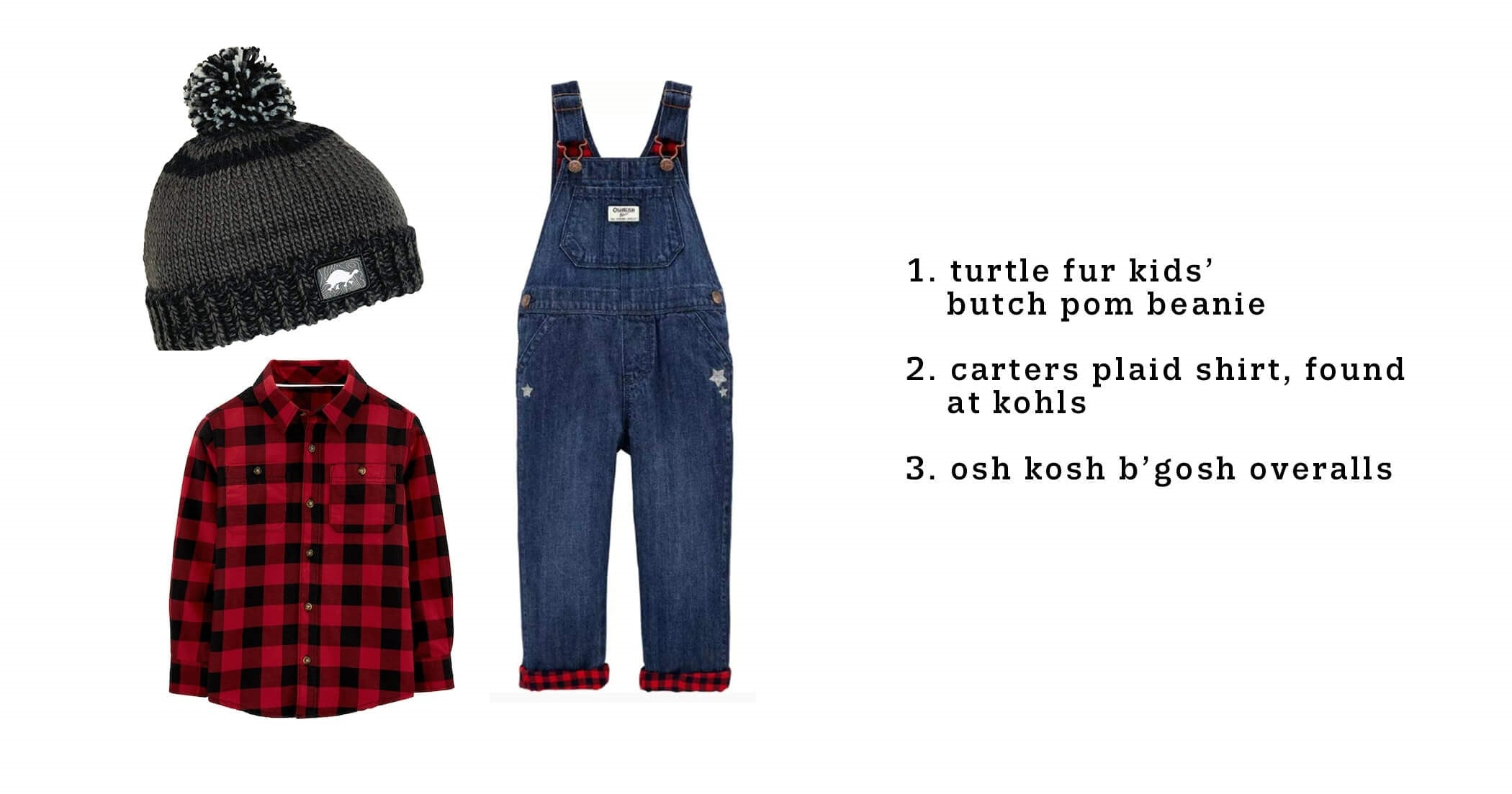 DIY halloween lumberjack costume