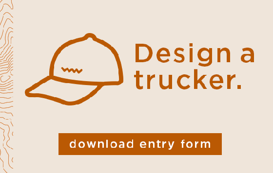design the next turtle fur trucker ball cap style entry form
