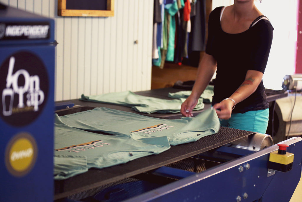Organic Shirts by Turtlefur for Vermont Outdoors