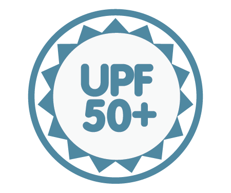 UPF 50+ - Blocks 97% of UV Rays