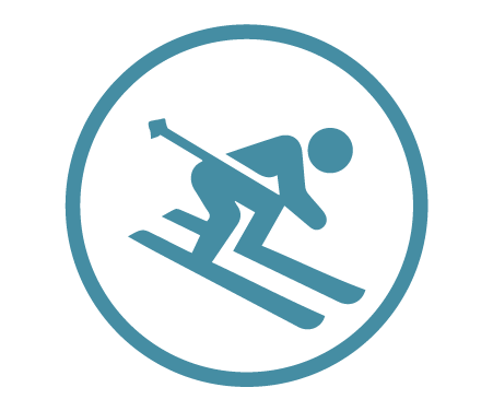 Good for Downhill Alpine Skiing