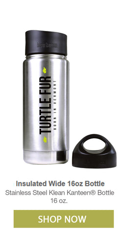 Lightweight steel hiking thermos with backpack cap