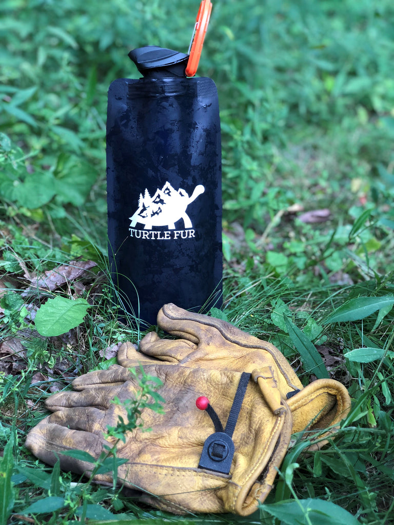 Long Trail Gear Hiking Water Bottle Turtle Fur Vermont