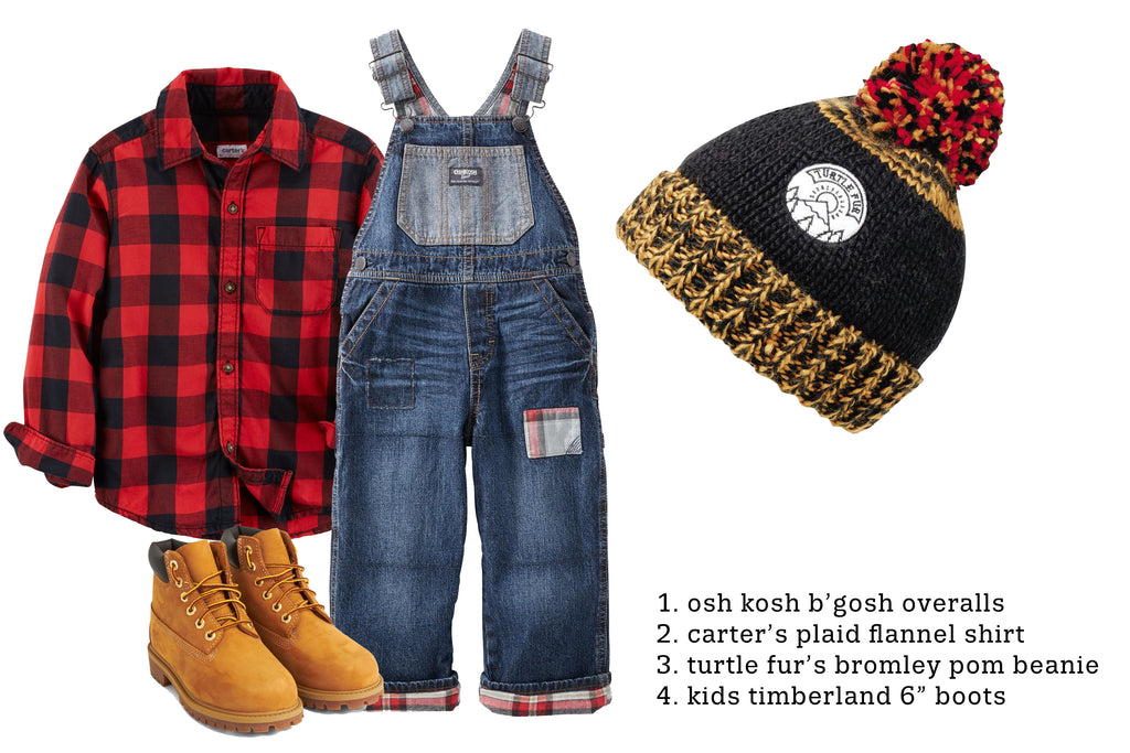 Lumberjack Halloween Costume DIY Kids Ideas