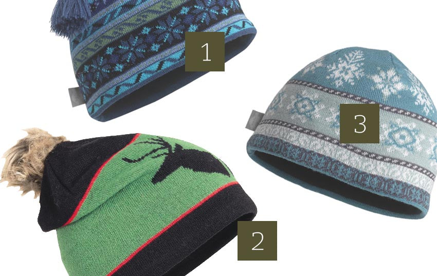 Merino Beanies and fleece linings