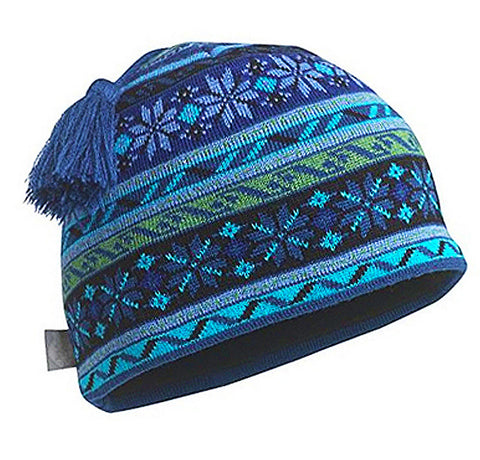 Merino Wool Hat in Retro Ski Classic Traditional Style an Fashion