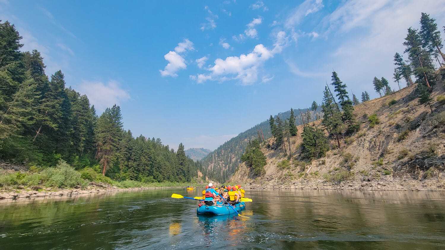 White Water Rafting on the Clark Fork River