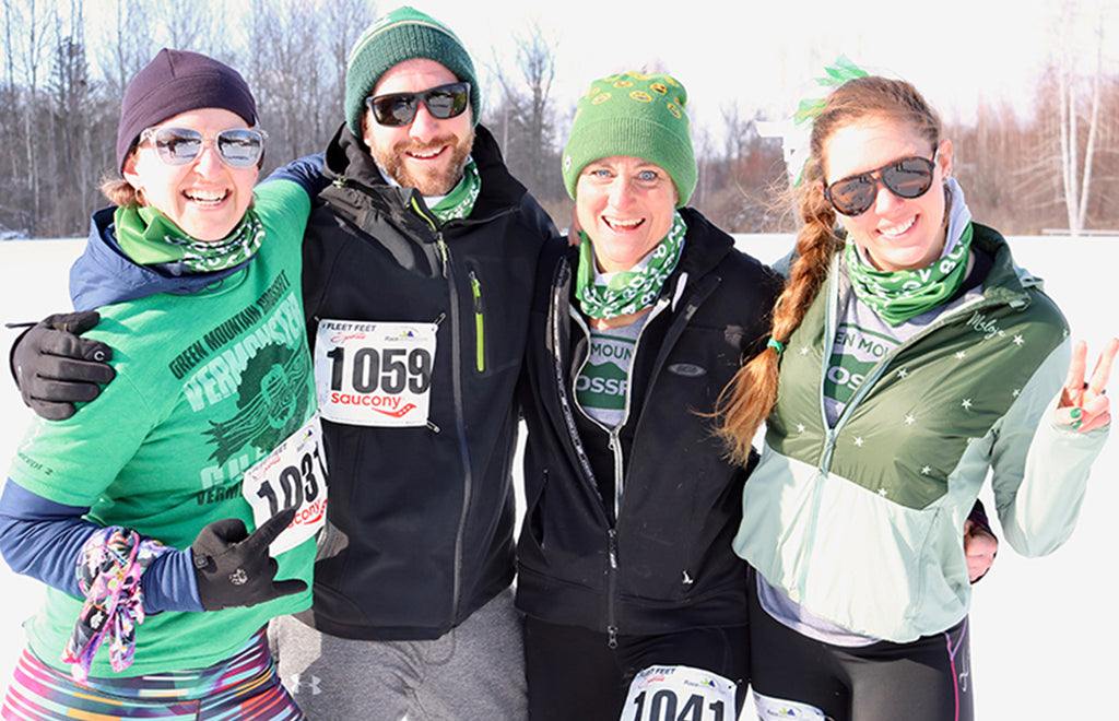 Turtle Fur Running in Winter Cold Race Vermont CrossFit Shelby Farrell