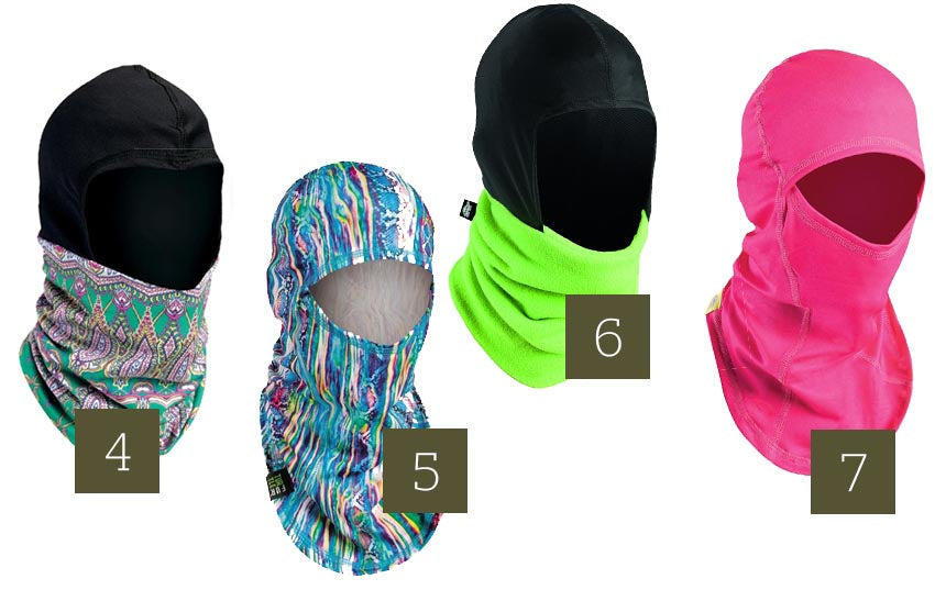 Womens Ski Accessories Face Protection