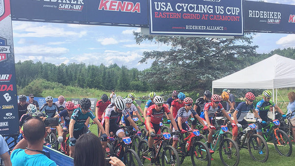 The Eastern Grind Mountain Biking Race in Vermont