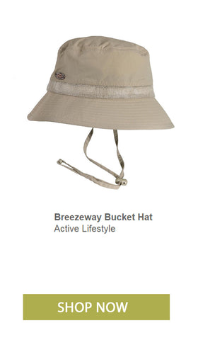 Classic retro waterproof bucket hat