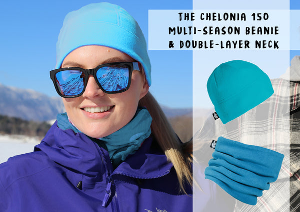 Chelonia 150 Pair up Warm Neckwarmer and Beanie in Soft Fleece