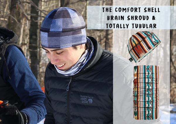 Comfort Shell Brain Shroud and Totally Tubular Pair