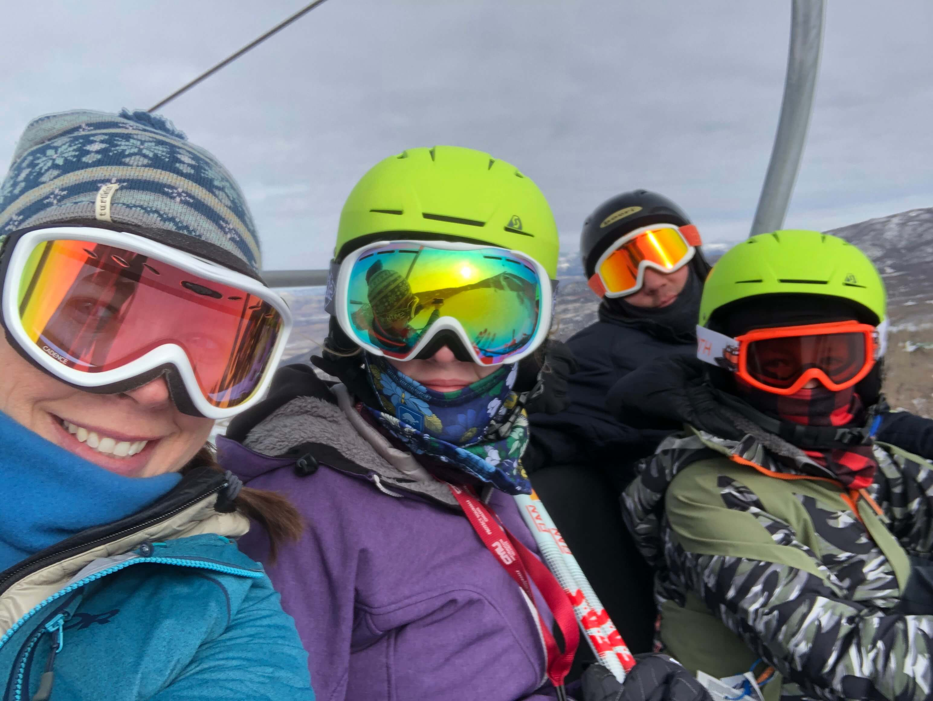 Tips for skiing with kids, family ski trips