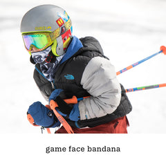 game face bandana, gift ideas for kids who love to ski