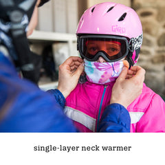 single-layer neck warmer, kids' holiday gift ideas