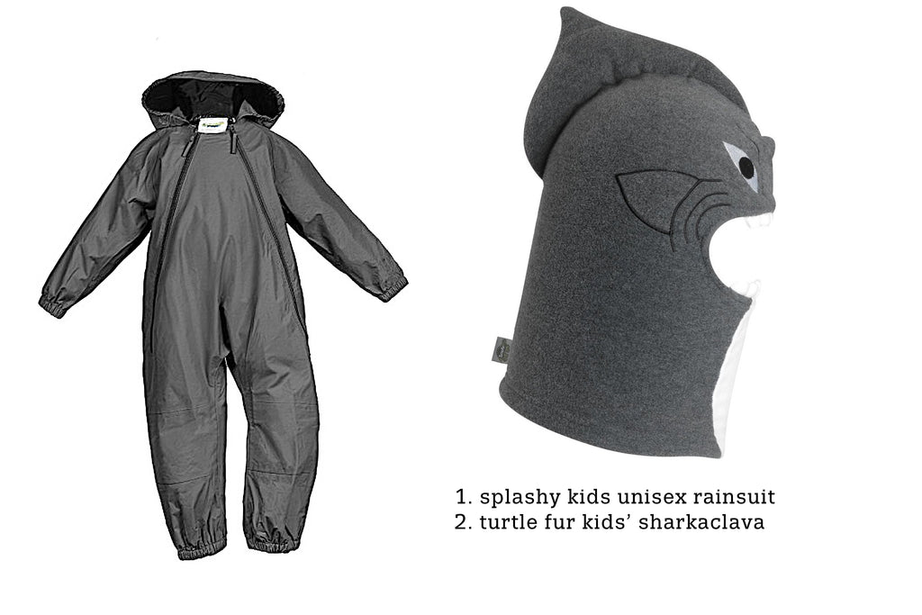 DIY Shark Halloween Costume idea