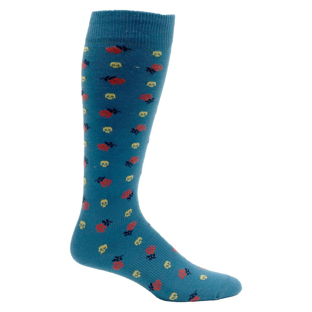 Eurosock Lightweight OTC Graphic Sock / Color-Teal