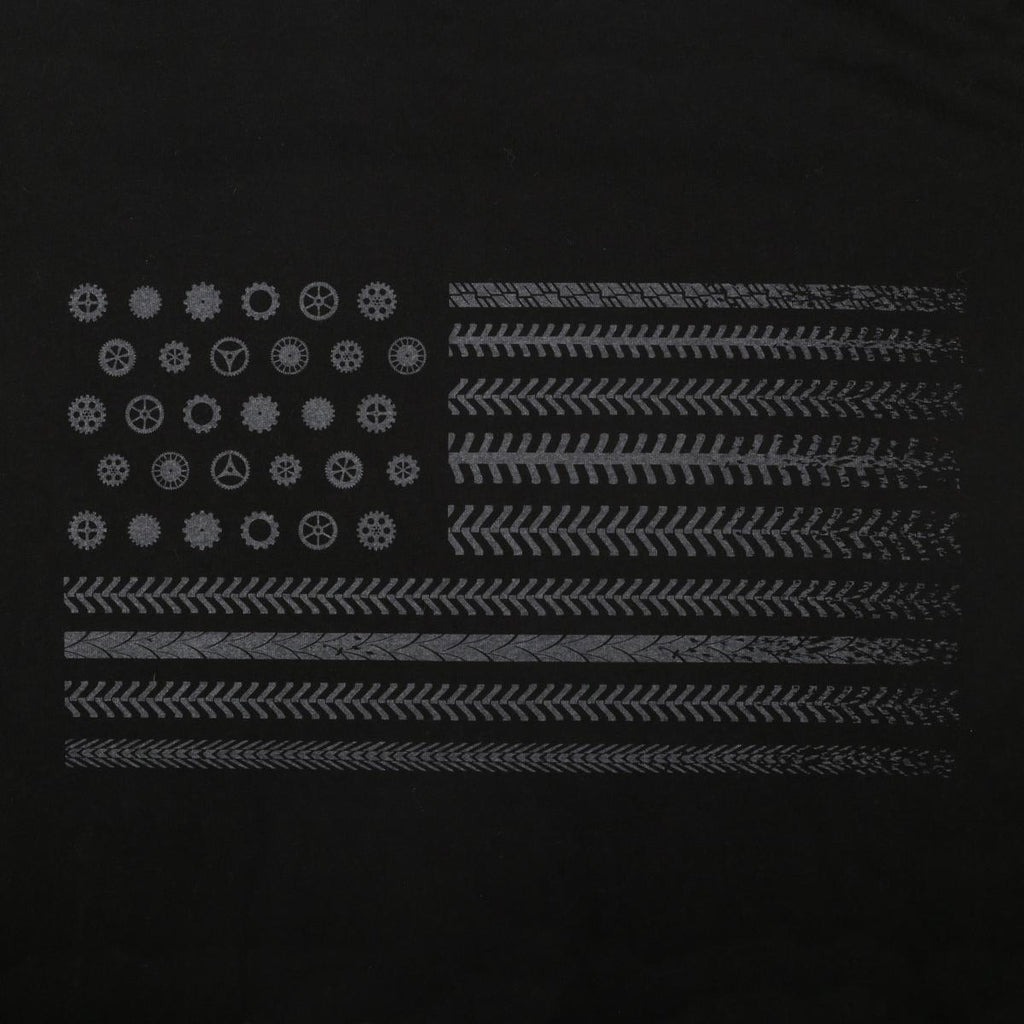 Men's Trail Nation T-Shirt / Color-Black