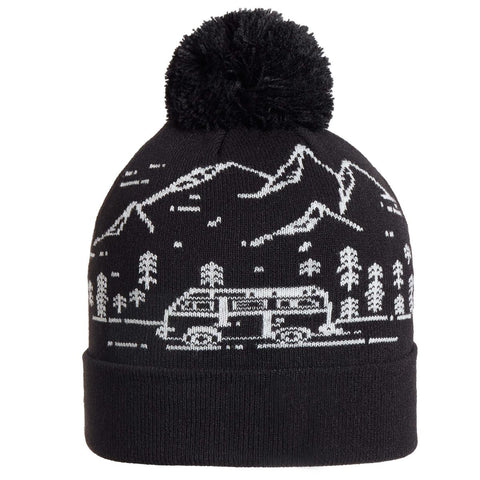 Youth Road Trip Pom / Color-Black