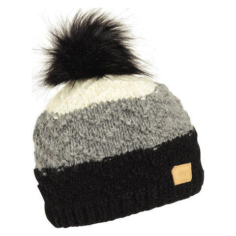 Dhanvi Pom Beanie / Color-Black