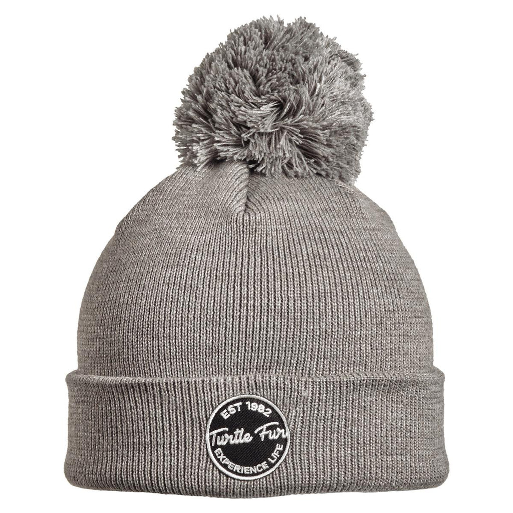 Winds of Change Pom Beanie / Color-Charcoal