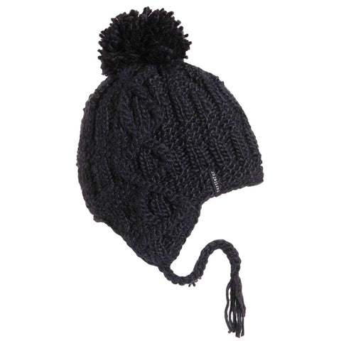Gianna Pom Earflap / Color-Black