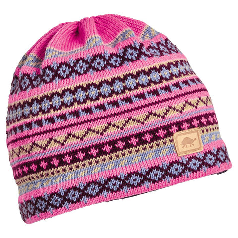 Fjord Knit Beanie / Color-Pink