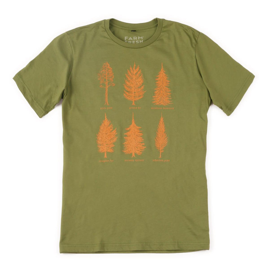 Men's Pine-ing Fir Attention T-Shirt / Color - Olive