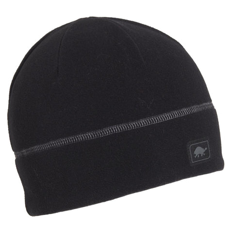 Micro Fur Fleece Beanie / Color-Black