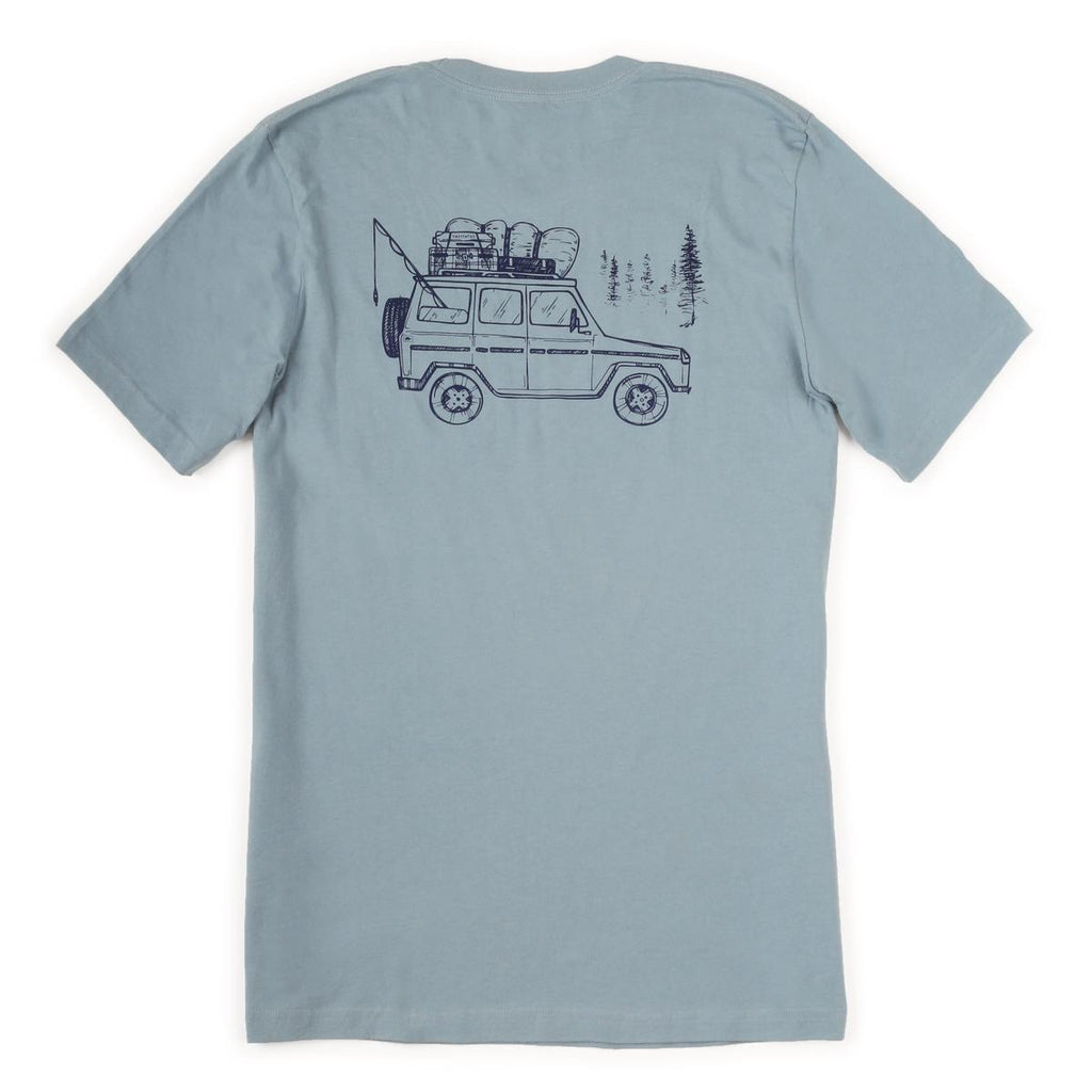 Men's Road Tripper T-Shirt / Color-Scout Green