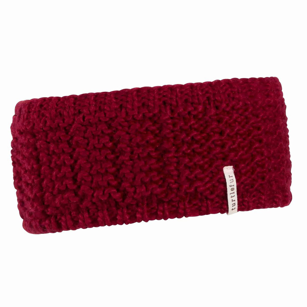 Shay Knit Headband / Color-Wine