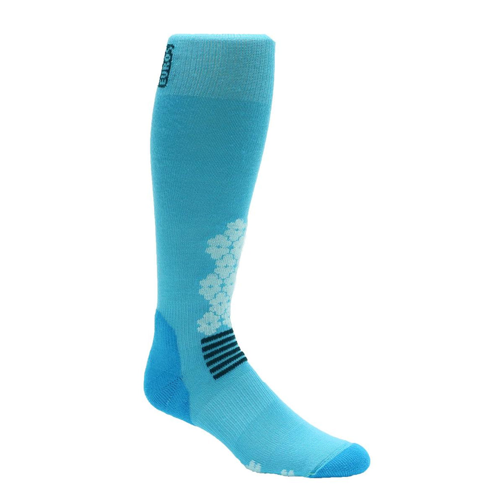 Midweight Snowdrop OTC Sock / Color-Turquoise